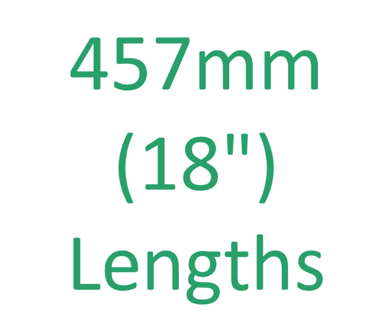 "457mm (18"") Lengths"