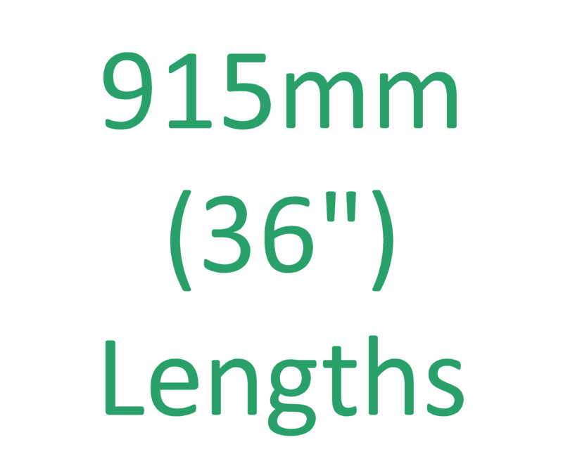 "915mm (36"") Lengths"
