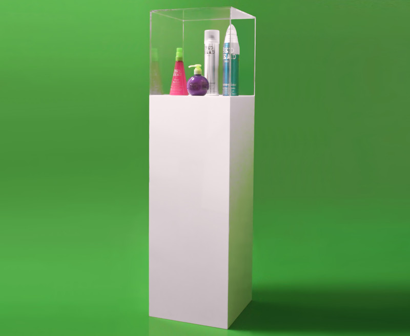 Display Pedestal with Cover