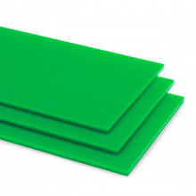 Grass Green 6205 Acrylic Shapes