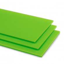 Lime Green 6T81 Acrylic Shapes