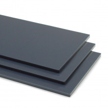 Dark Grey 9640 Acrylic Shapes