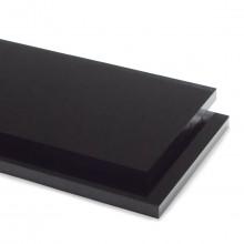 Black 9M871 Hi-Gloss Acrylic Sheet