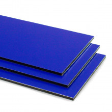 Blue Aluminium Composite Sheet